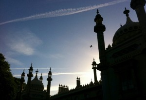 Sunrise over the Brighton Royal Pavillion