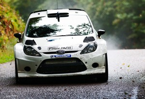 Petter Solberg - Tarmac Test for WRC Rally France